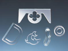 Waterjet Cutting - Glass Example 1