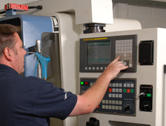 Precision Engineering - CNC Machine Control Panel