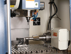 Precision Engineering - CNC Milling - Close Up