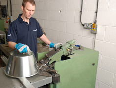 Venting and Ducting - Stephen at machine 3