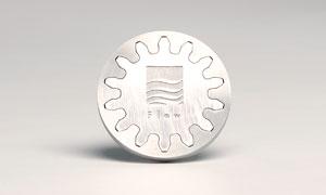 Waterjet Cutting - Metal Inlay