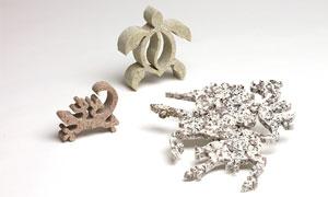 Waterjet Cutting - Stone Animals